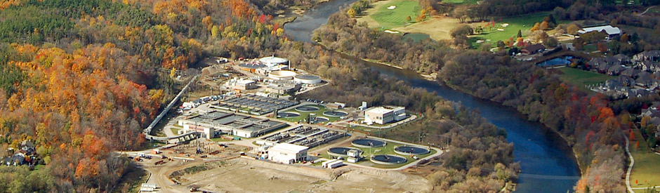 Kitchener wastewater treatment plant