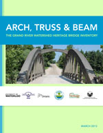 Cover of 2013 heritage bridge inventory report.