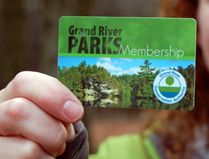 Grand River Parks membership card