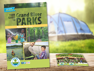 Grand River Parks guide cover 2018