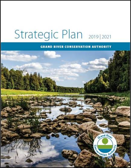 Cover of the GRCA Strategic Plan.